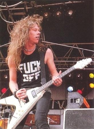 James Hetfield, dios de diosess!